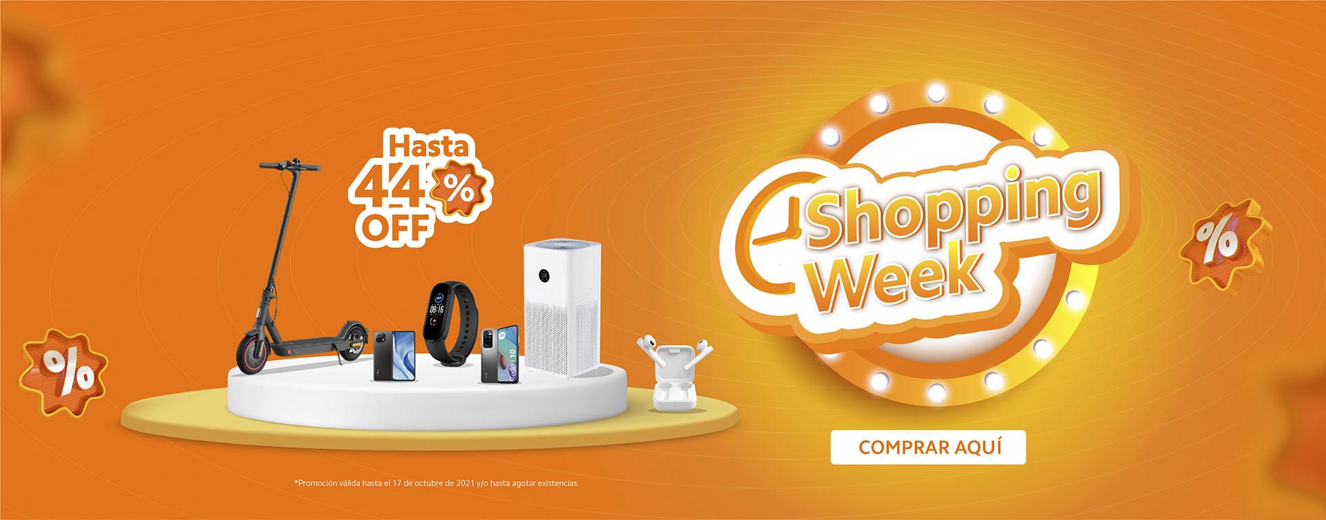 PROMOCIONES, OFERTAS, XIAOMI, DESCUENTOS, shopping week, smartphones, accesorios, smarthome, wearables